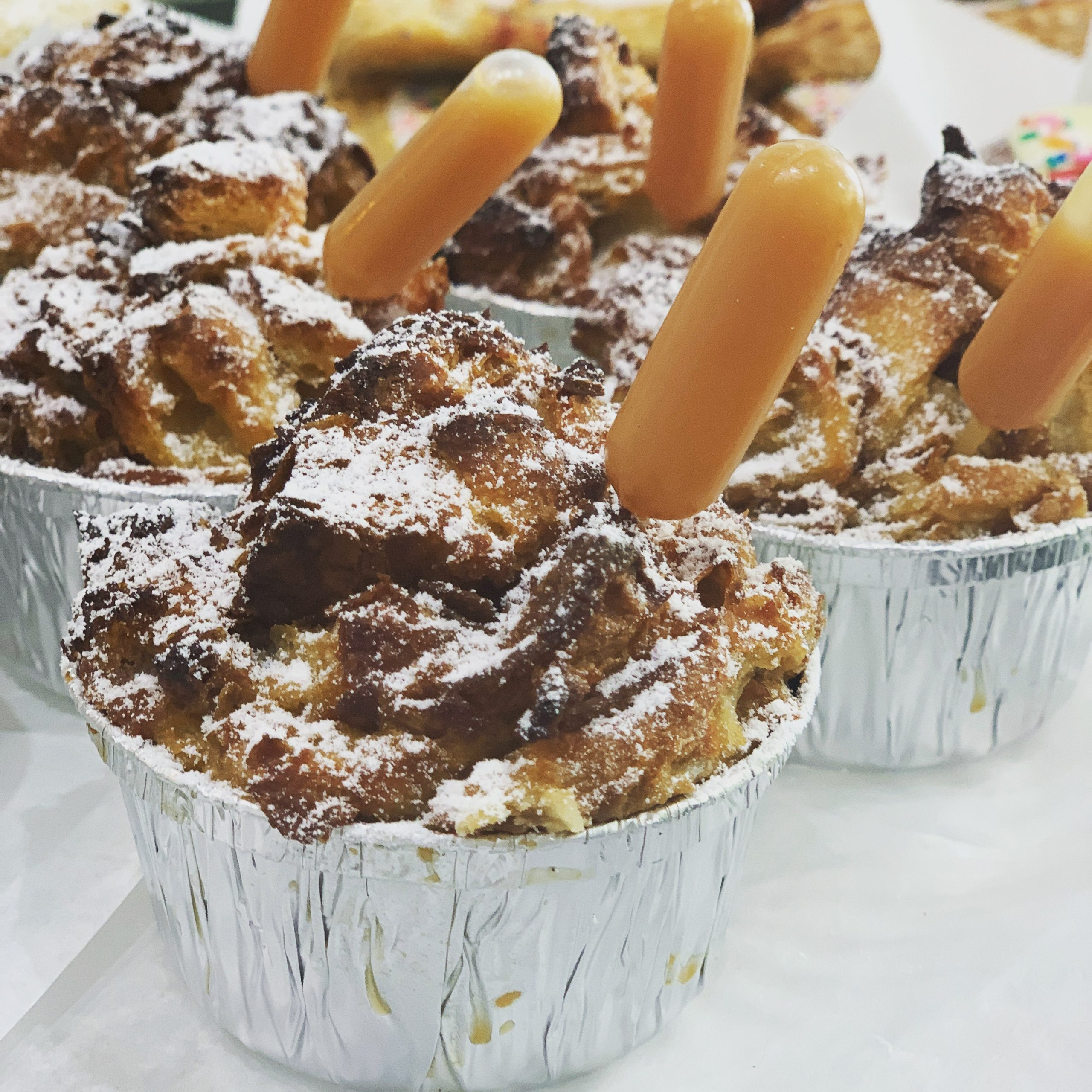 Cinnamon Sugar Bread Pudding with Caramel Injectors- 4