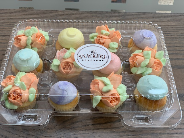 Mini Vanilla cupcake flower mix