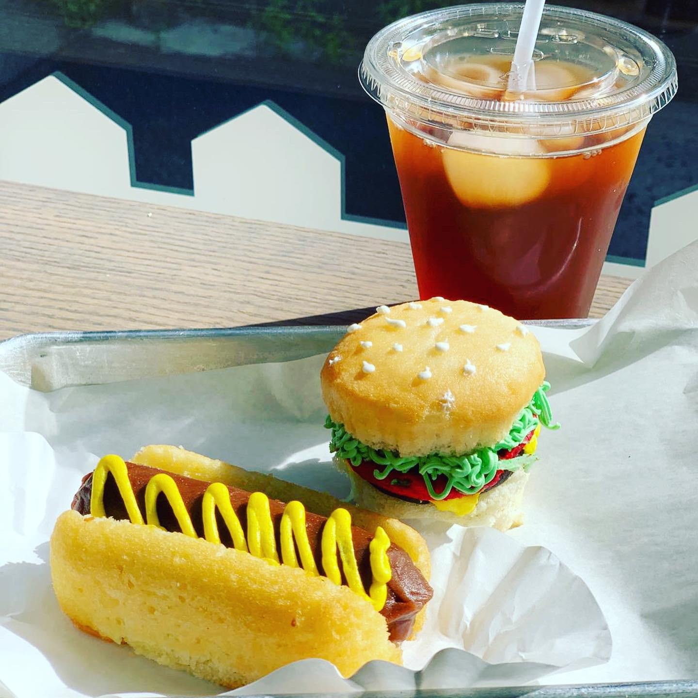 Virtual Camp Snackery-week 3 July 14-17 ( 2 hours daily -Tues through Fri) Food Imposters Cupcakes-Is that a hamburger, hot dog, fries or ice cream cone cupcakes?